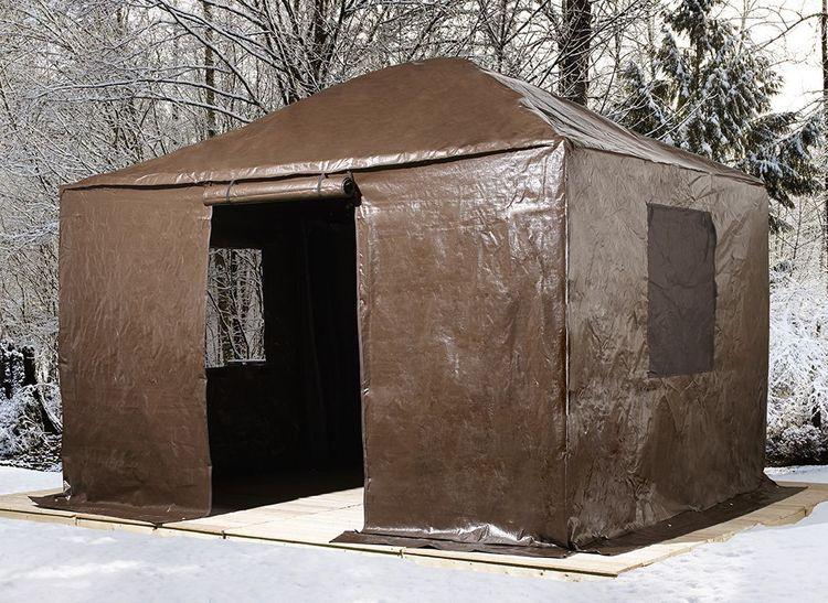 Sun Shelter Metal : Sojag messina galvanized steel roof sun shelter gazebo