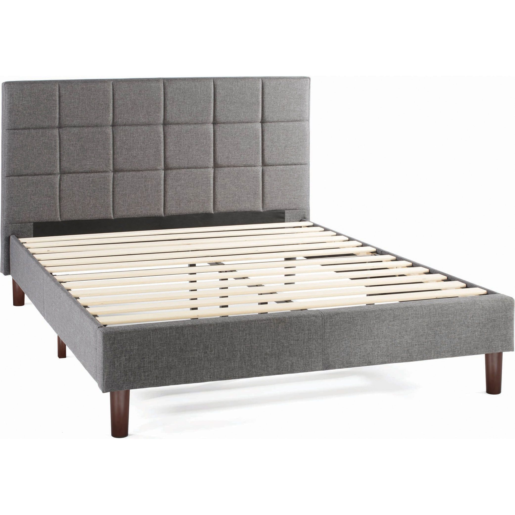 6f3a97e86207 Better Homes & Gardens Knox Upholstered Platform Bed, Multiple Sizes ...