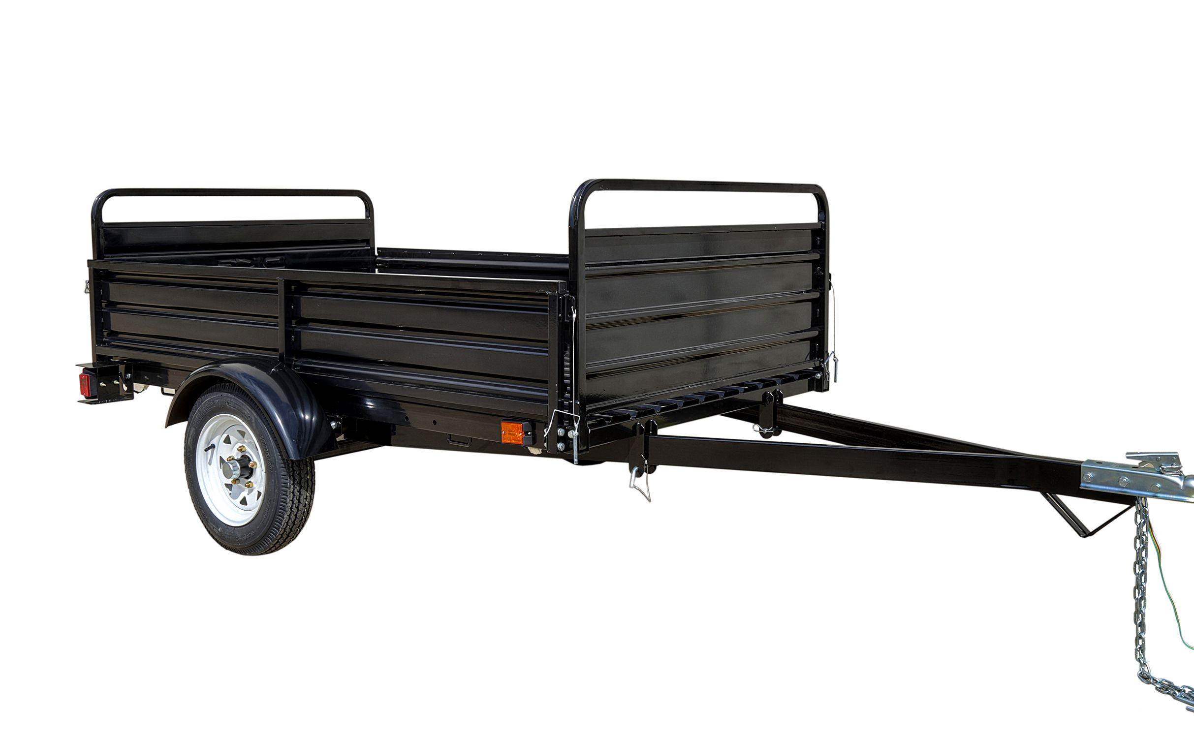 DK2 4 5 ft  x 7 5 ft  Mighty Multi Utility Trailer with Bed Tilt