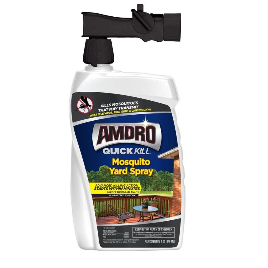 Amdro Quick Kill Mosquito Yard Spray 32 Fl Oz At Lowes