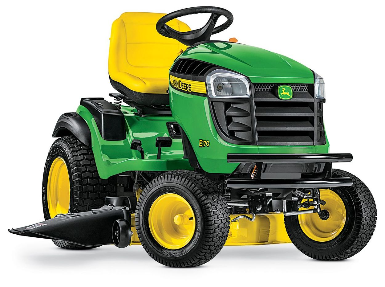 Lawn Mower Tractor >> E170 25 Hp V Twin Side By Side Hydrostatic 48 In Riding Lawn Mower With Mulching Capability Kit Sold Separately