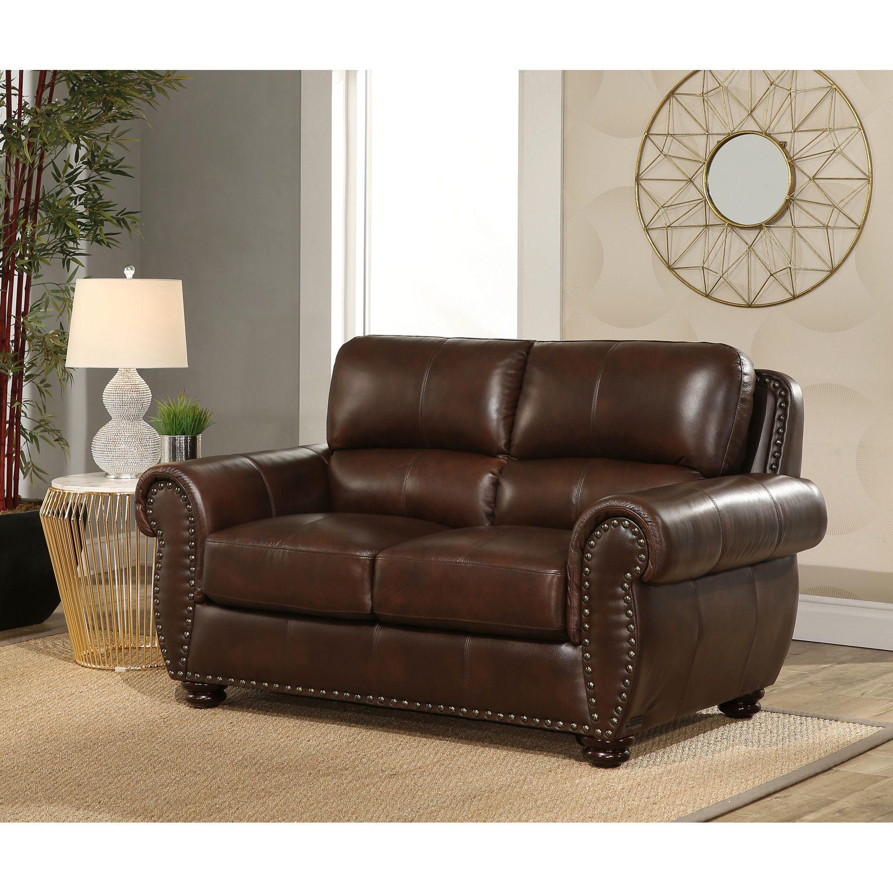 Austin 4 Piece Top Grain Leather Set My Online Store