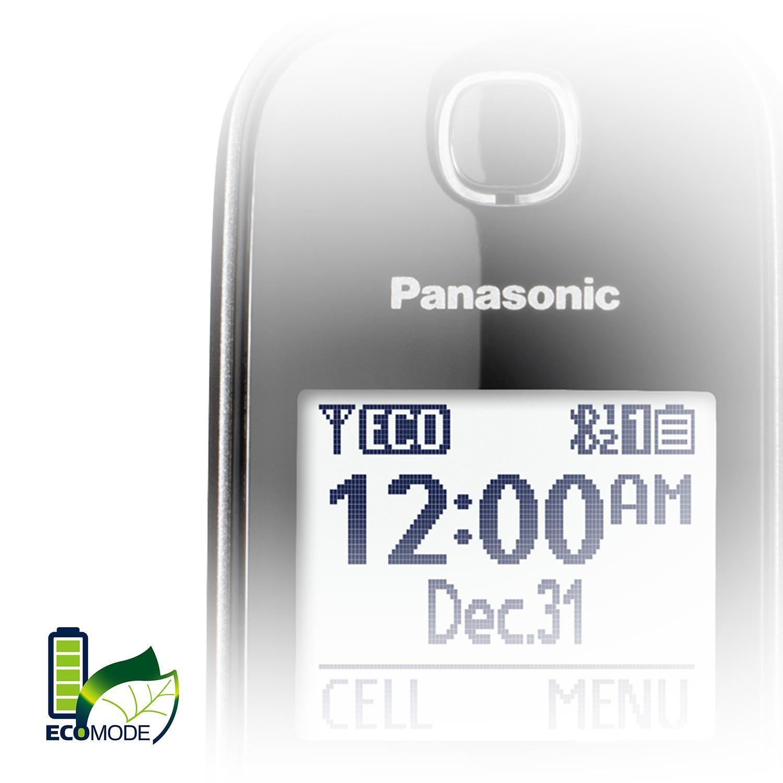 Panasonic KX-TG833 DECT 6 0 Bluetooth 3-Handset Phone Bundle