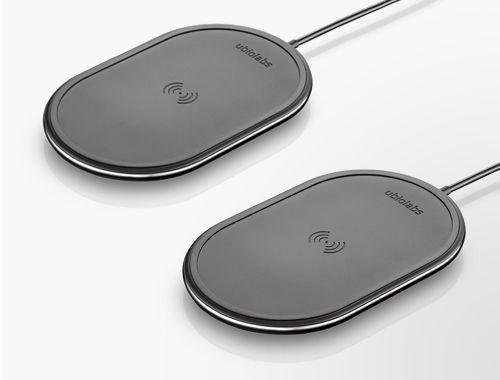 Ubio Labs 10W Qi Wireless Charging Pad, 2-pack