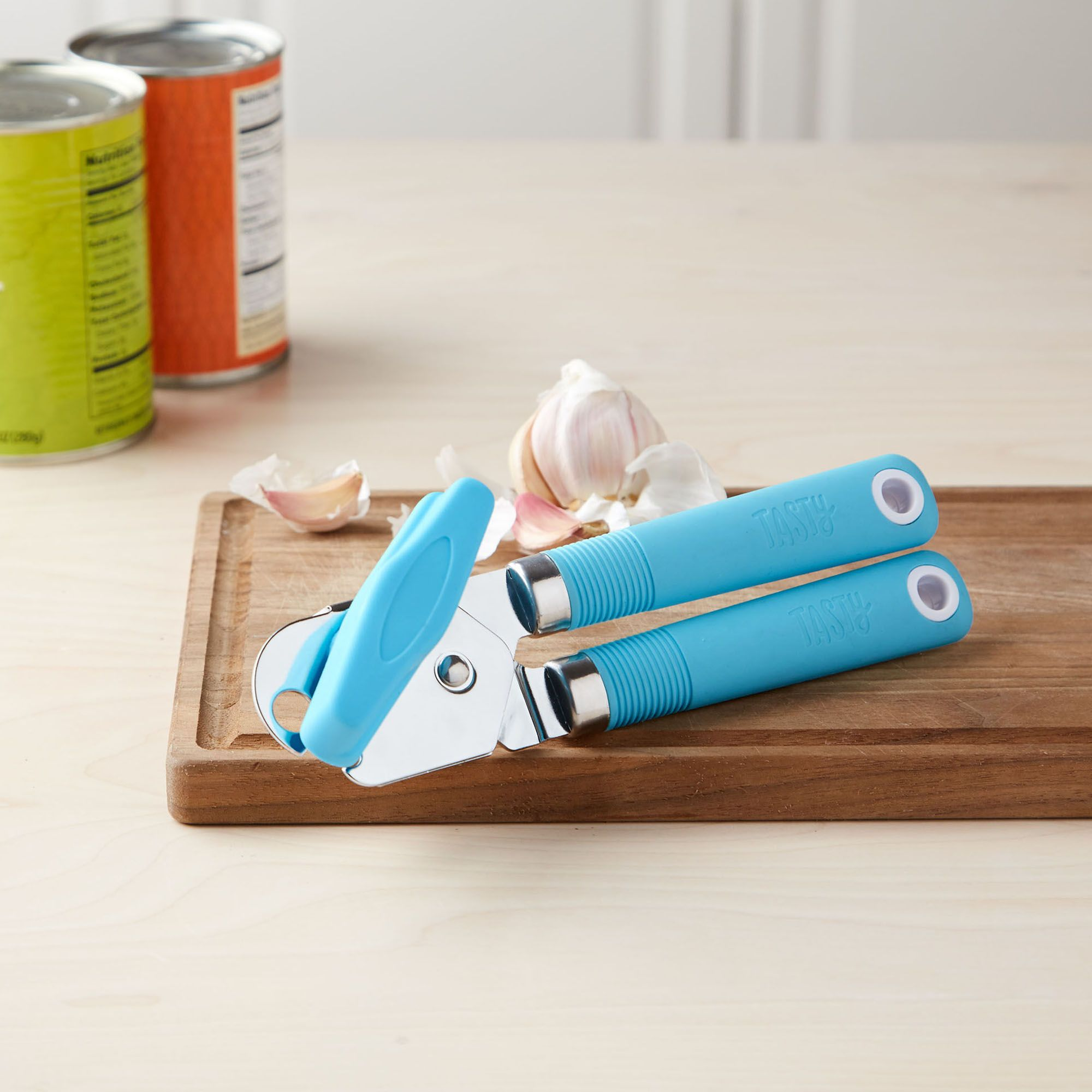Tasty Green Manual Can Opener With Softgrip Handle Walmartcom