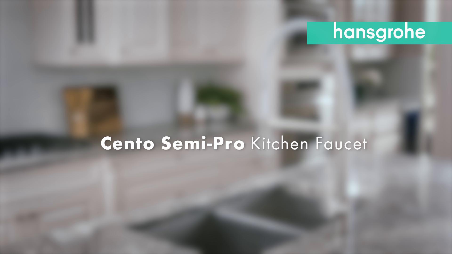 Hansgrohe Cento Semi Pro Kitchen Faucet
