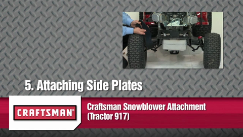 Craftsman® Snowblower Attachment (Tractor 917) (71-24837