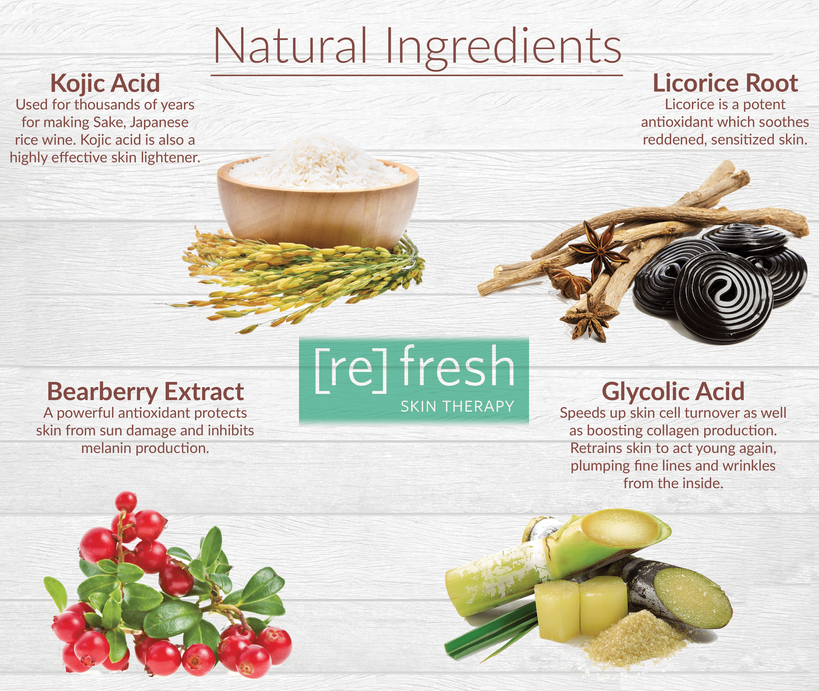 Refresh Skin Therapy Fruit Triple Brightening Serum, 1 0 fl oz