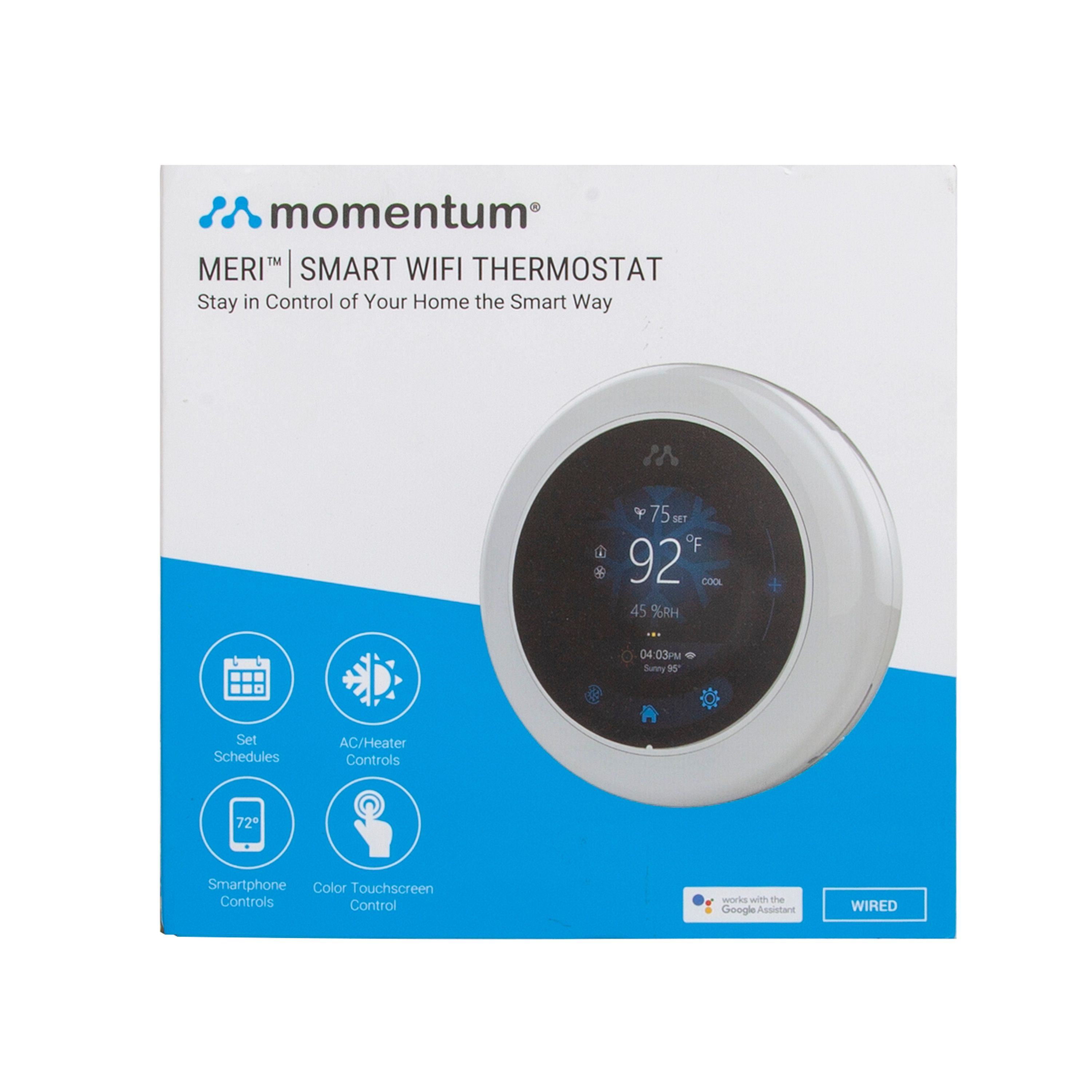 Momentum Smart Thermostat - Walmart com