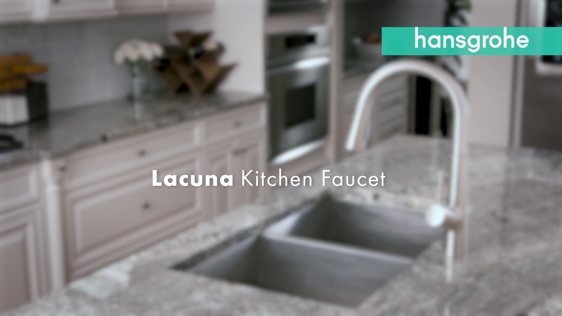Hansgrohe Lacuna Pull Down Kitchen Faucet