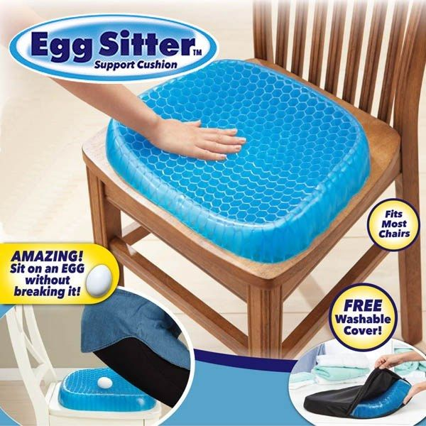 Egg Sitter Gel Support Seat Cushion As Seen On Tv Walmart Com