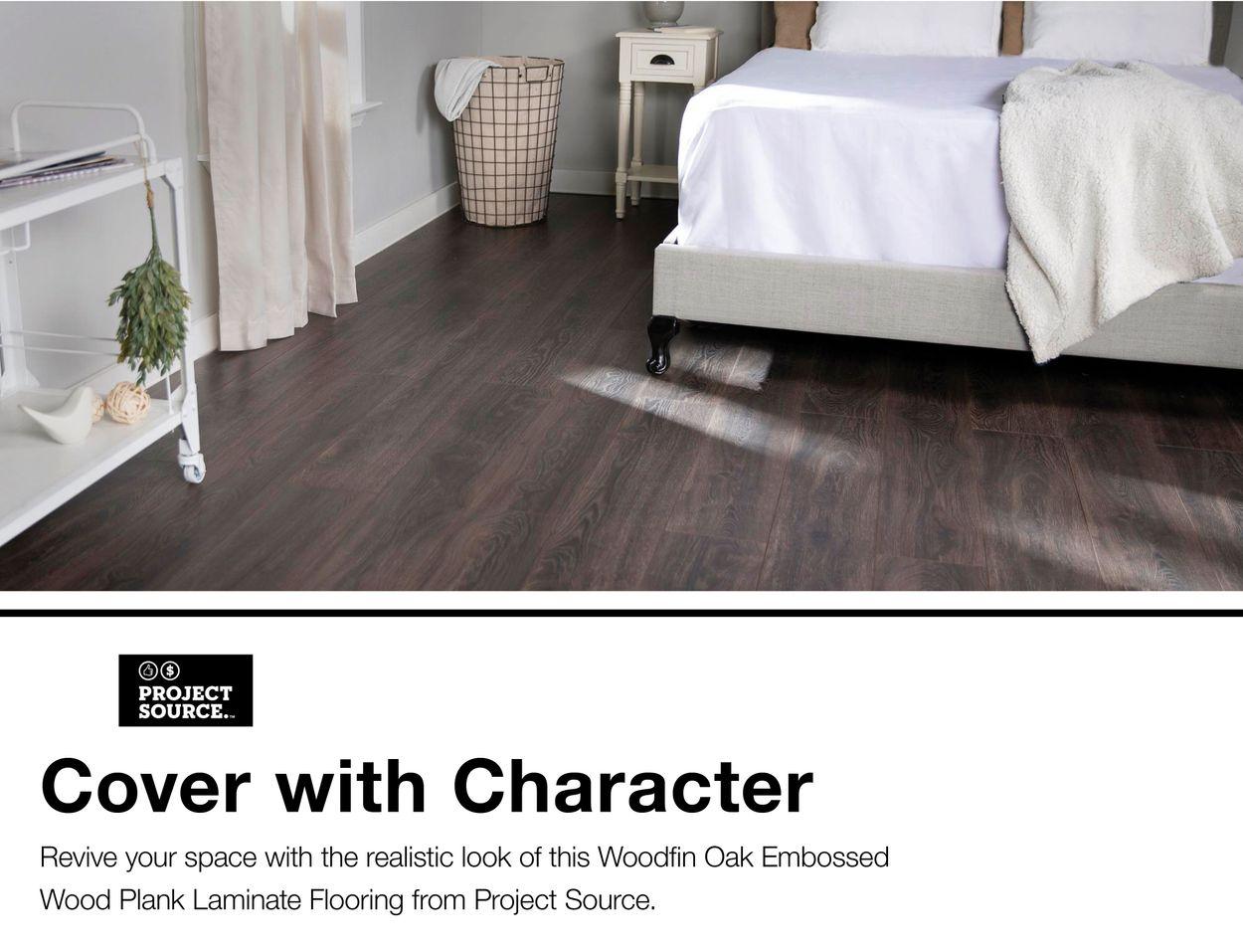 Project Source Woodfin Oak 7.59-in W x