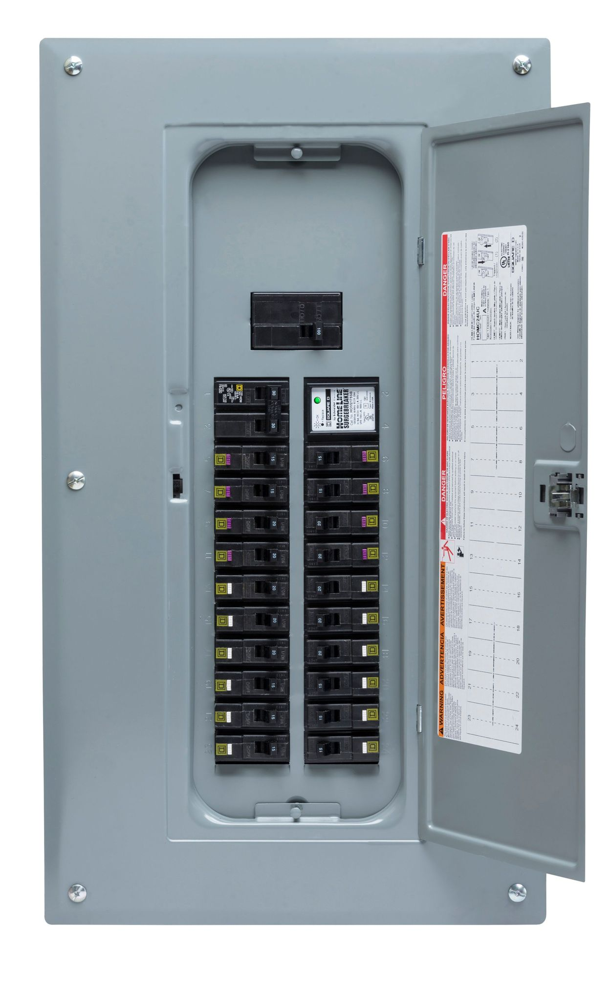 Pr Series Inlet Boxes With Built In Circuit Breaker
