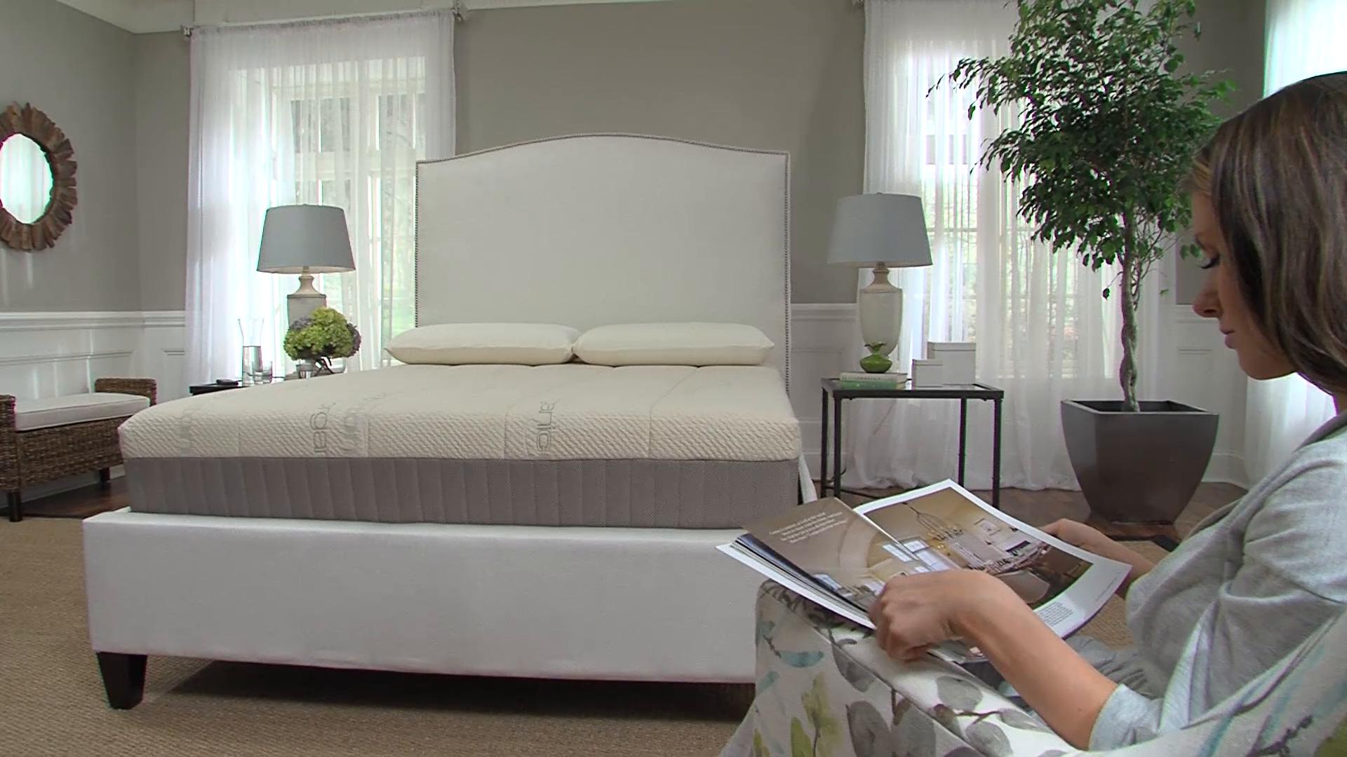 sleep science 9 natural latex king mattress with foundation medium