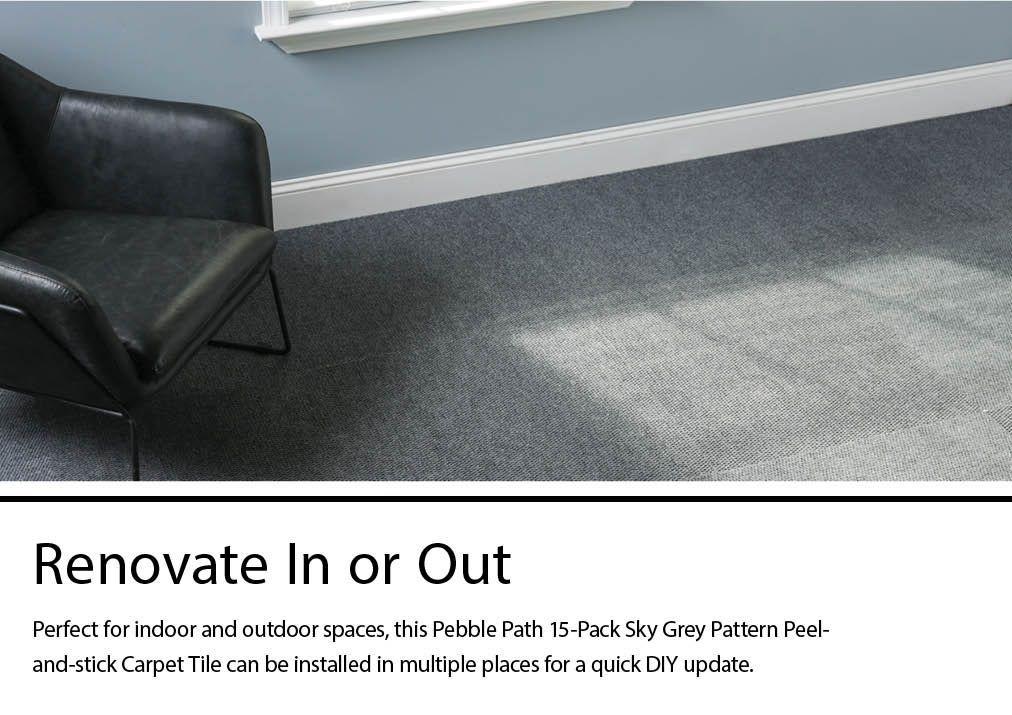 L And Stick Carpet Tiles Dry