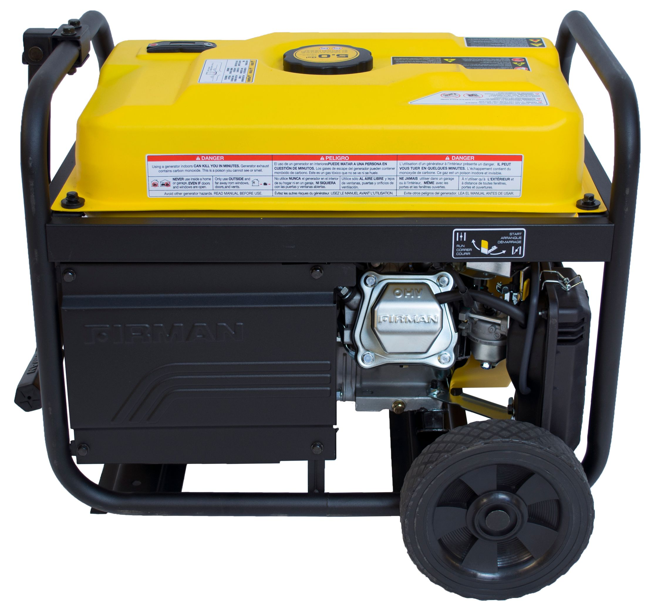 Firman Performance 4550/3650 W Portable Generator with remote