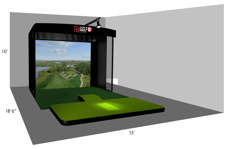 TruGolf Vista C-Series MultiSport Simulator