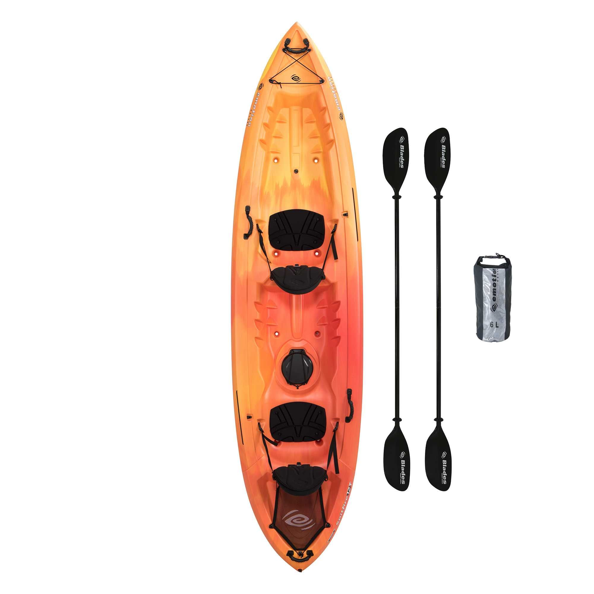 2 Person Kayak Costco >> Lifetime Emotion Spitfire 12 Tandem Sit On Kayak