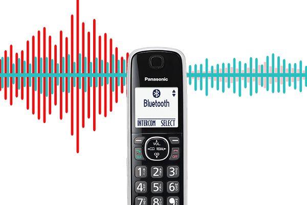 Panasonic KX-TG885 DECT 6 0 Bluetooth 5-Handset Phone Bundle