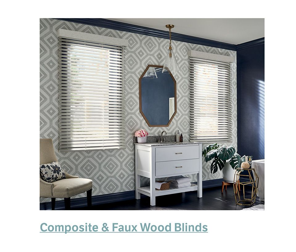 Graber Composite Faux Wood Blinds