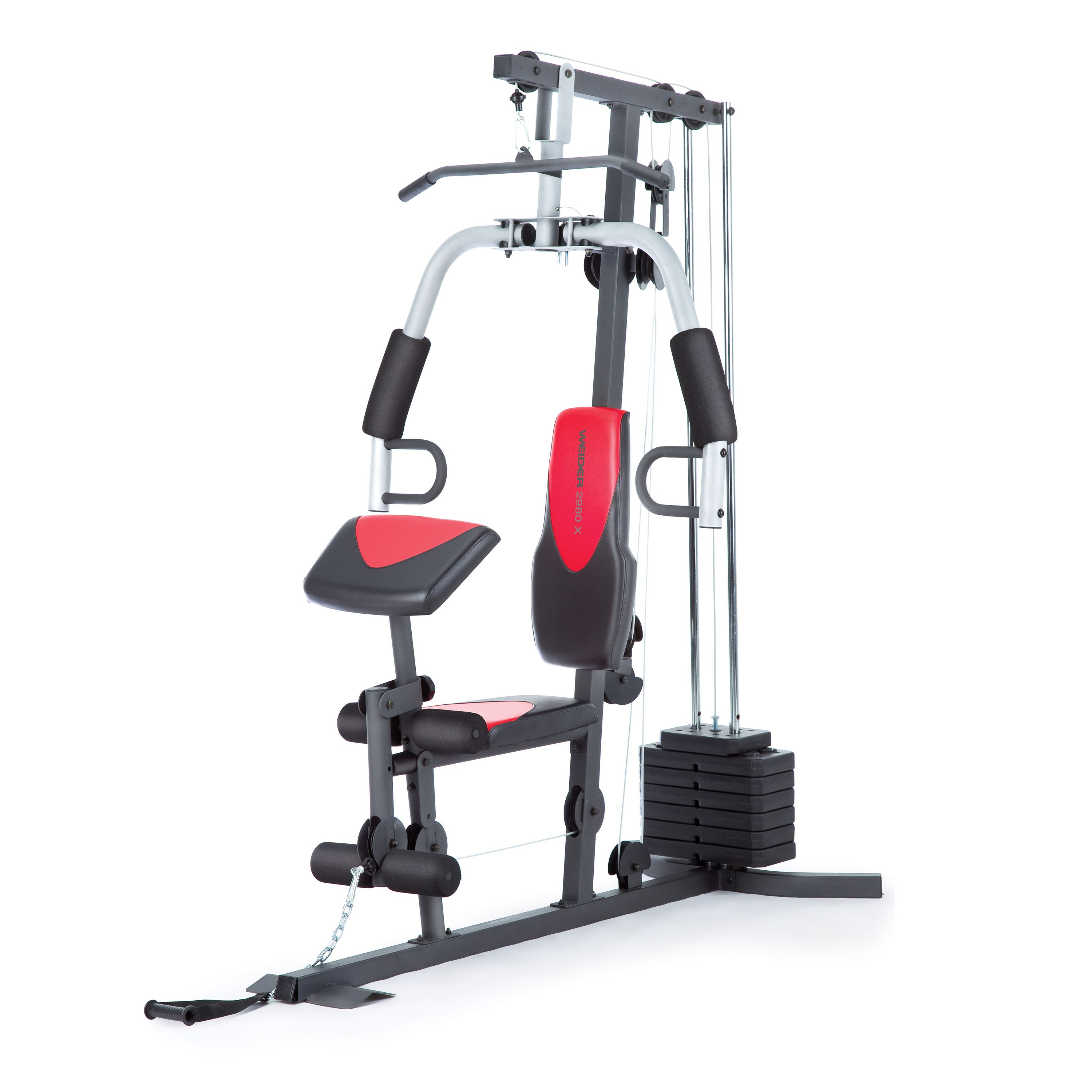 Weider 2980 Home Gym with 214 Lbs. of Resistance