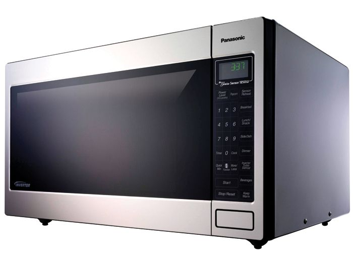 Panasonic 2 2 Cu  Ft  1250 W Stainless Steel Microwave Oven
