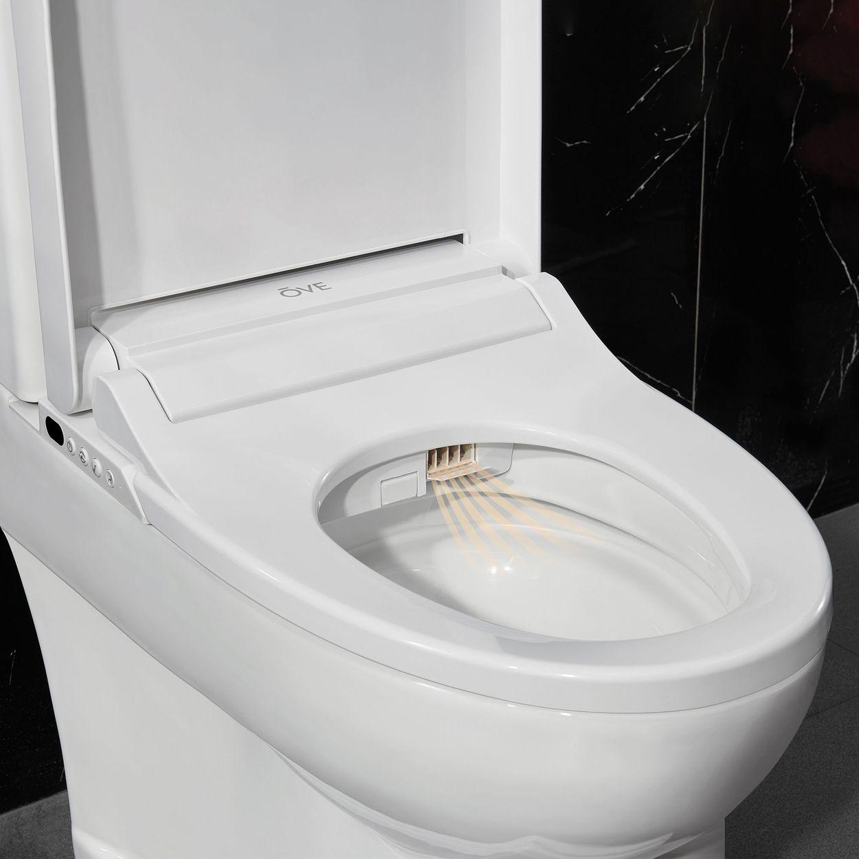 Astounding Details About Irenne Classic Smart Bidet Toilet By Ove Led Night Light W Auto Open Close Lid Machost Co Dining Chair Design Ideas Machostcouk