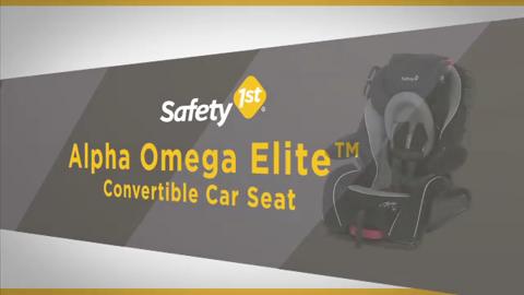 Alpha Omega Elite Convertible Car Seat (4358-5835) - Video Guides