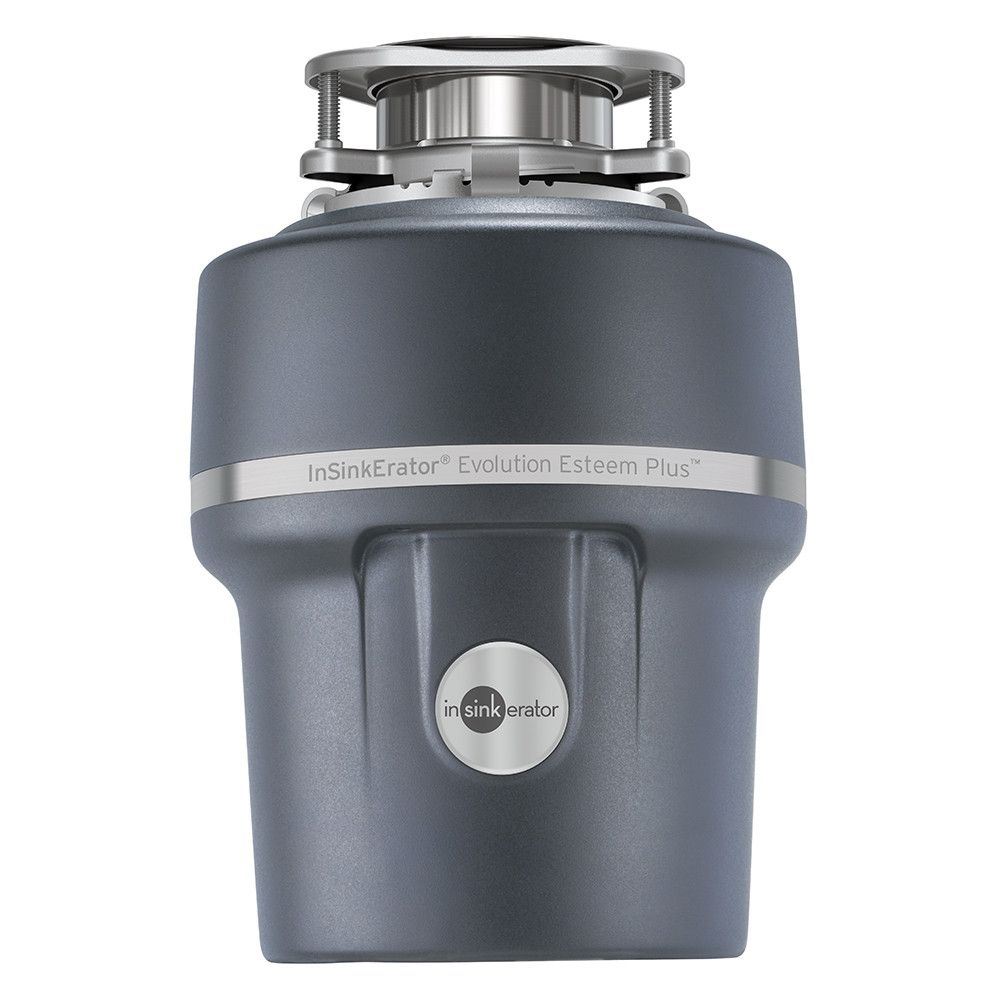 evolution 1-hp continuous feed noise insulation garbage disposal