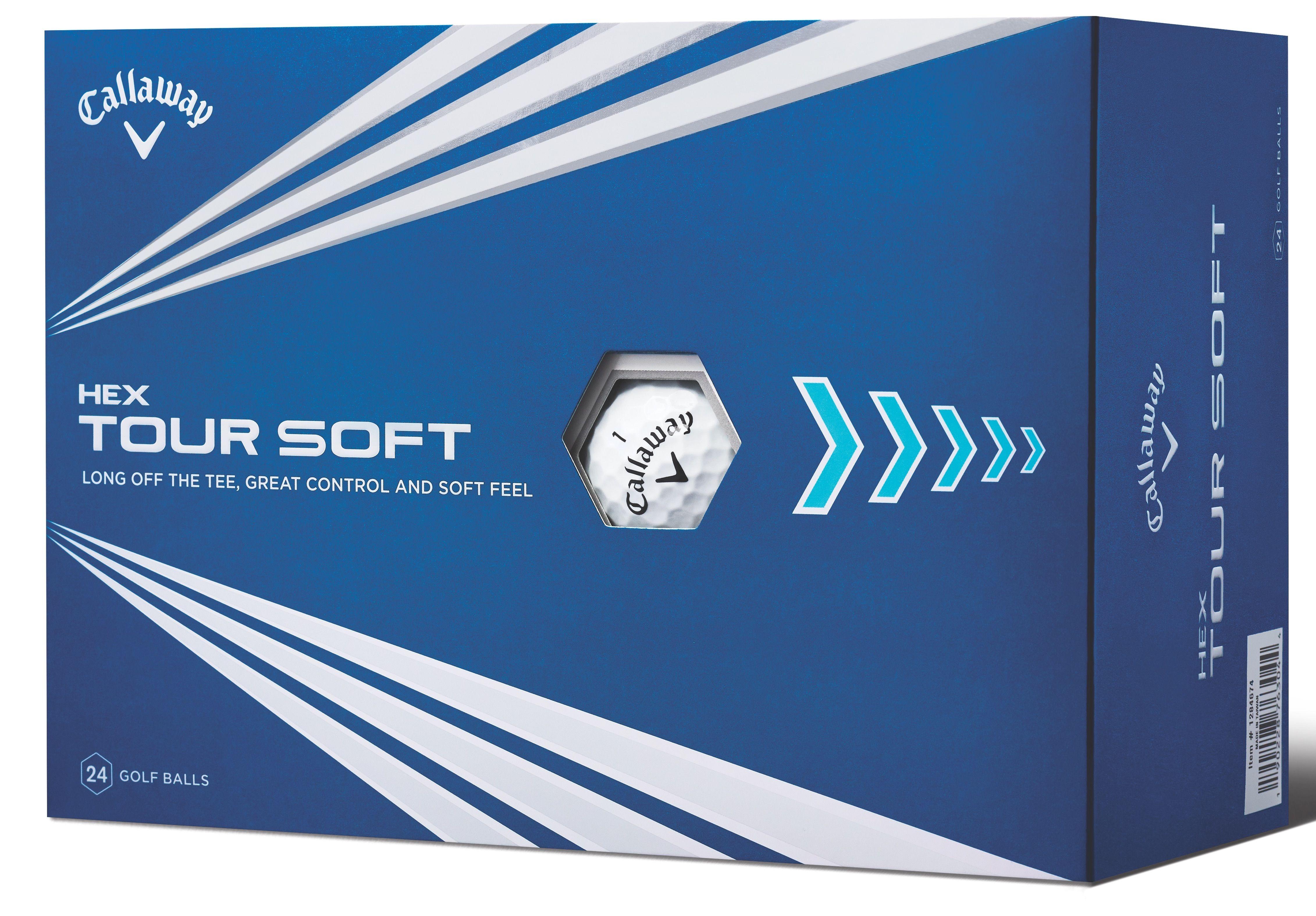 f6cf982226bee Callaway HEX Tour Soft Golf Ball 4-dozen