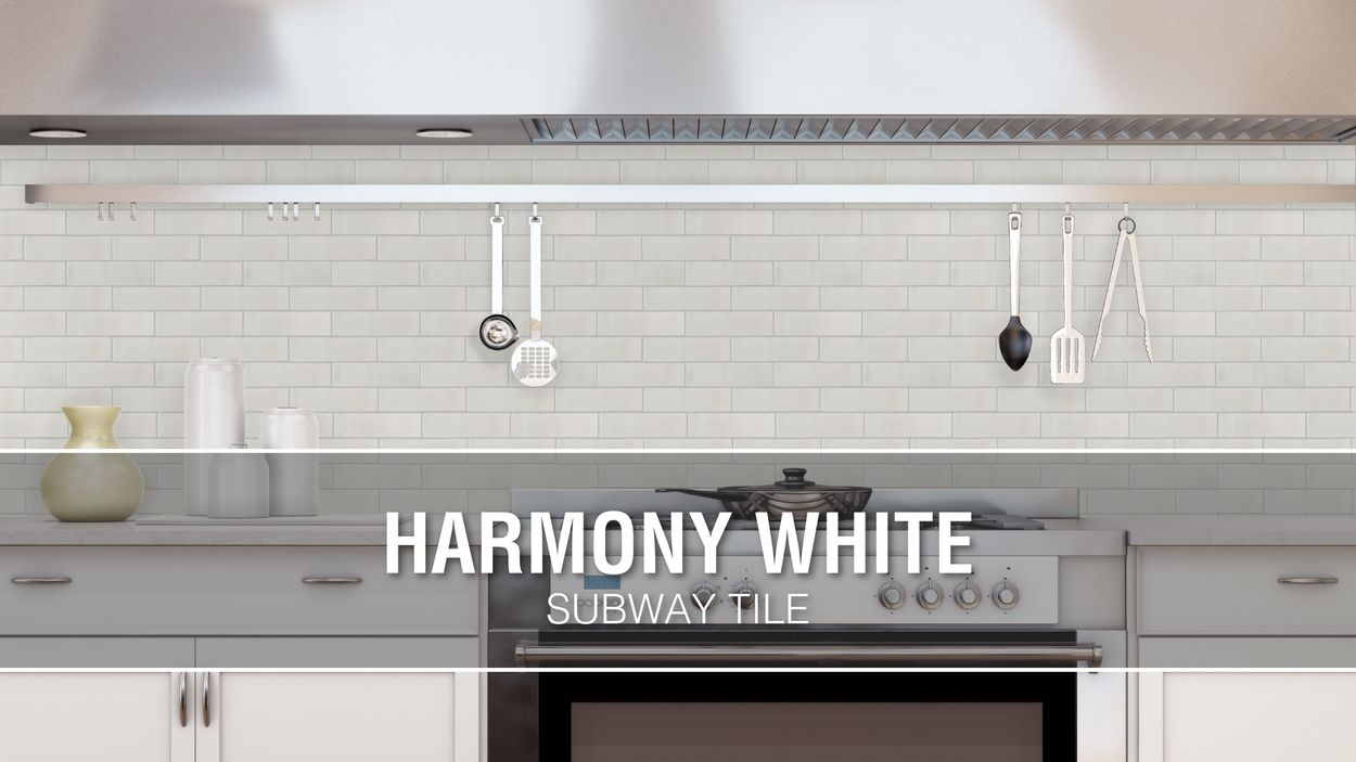 - Elida Ceramica Harmony White Subway 12-in X 15-in Glazed Ceramic Brick  Mosaic Wall Tile In The Tile Department At Lowes.com