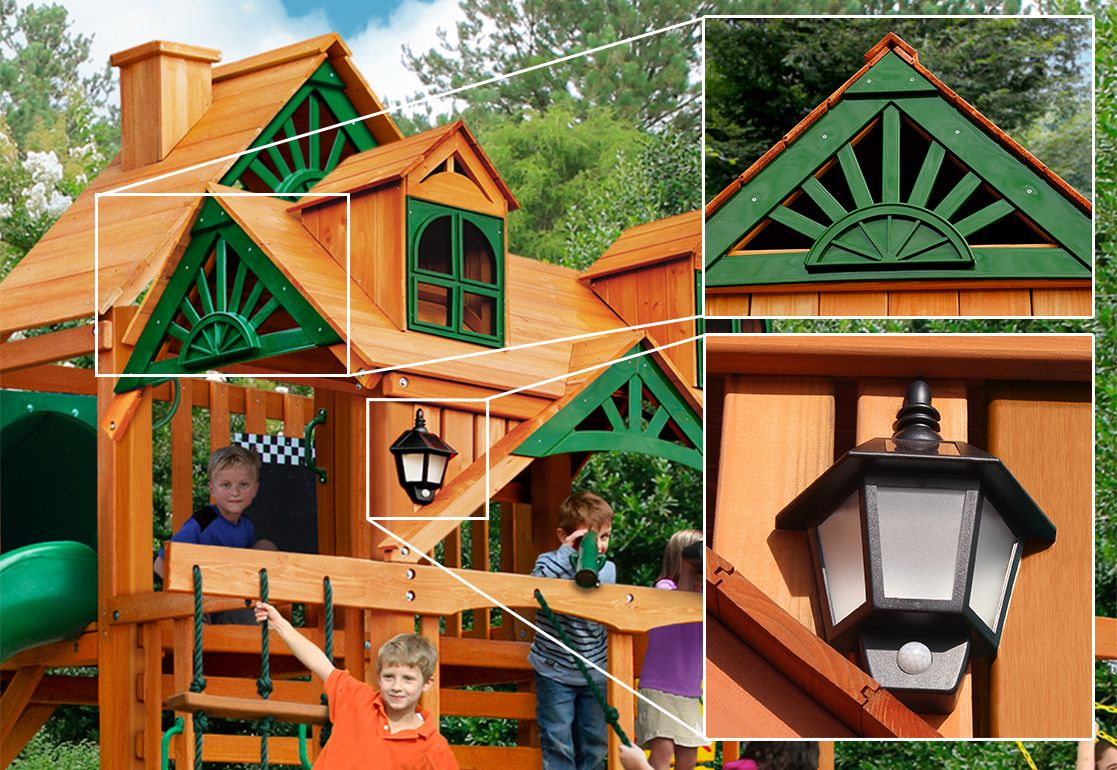 Gorilla Playsets Wilderness Retreat Playset - Do It Yourself or Installed