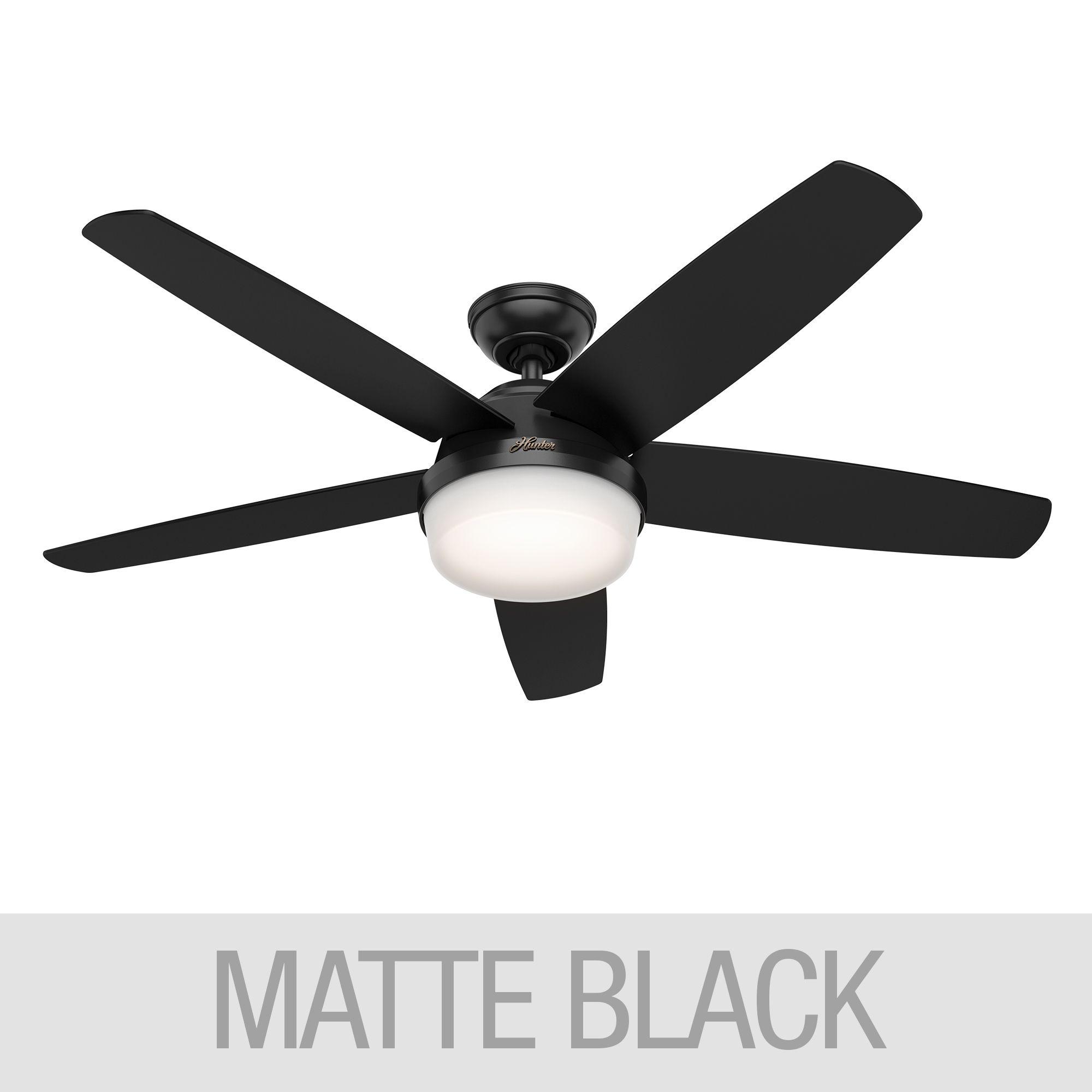 Hunter Led 52 Quot Avia Ii Ceiling Fan Reversible Blades