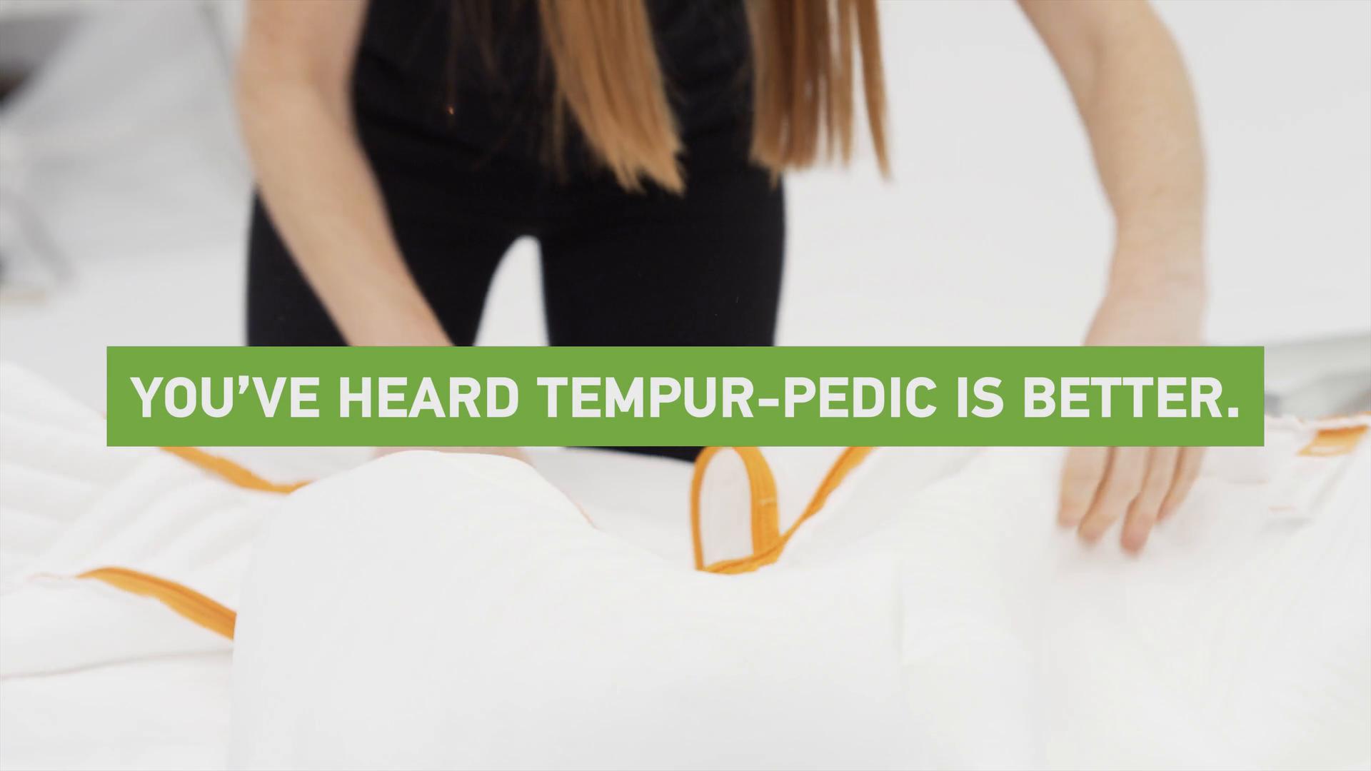 Tempur Cloud Supreme Cal King Set
