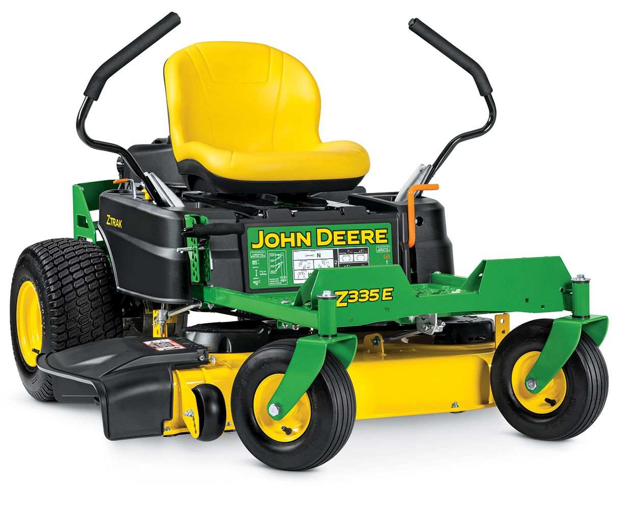 John Deere Z335E 20-HP V-twin Dual Hydrostatic 42-in Zero
