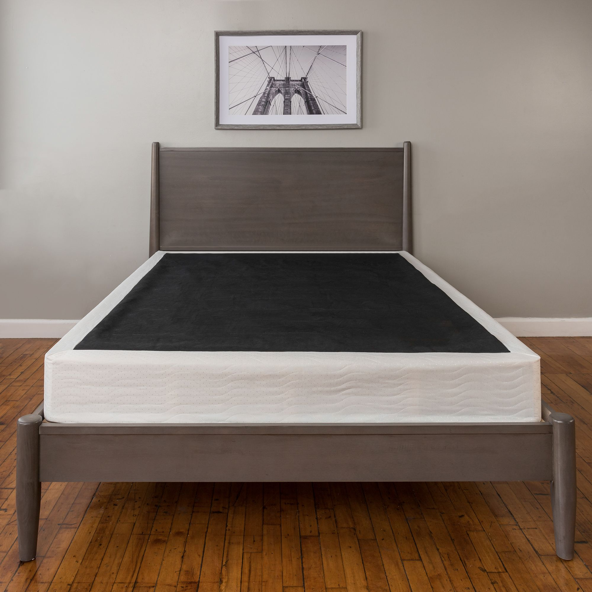 Modern Sleep Hercules Heavy Duty 14 Inch Platform Metal Bed Frame