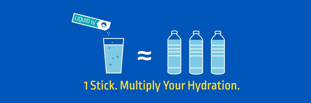 1 stick. Multiply your hydration