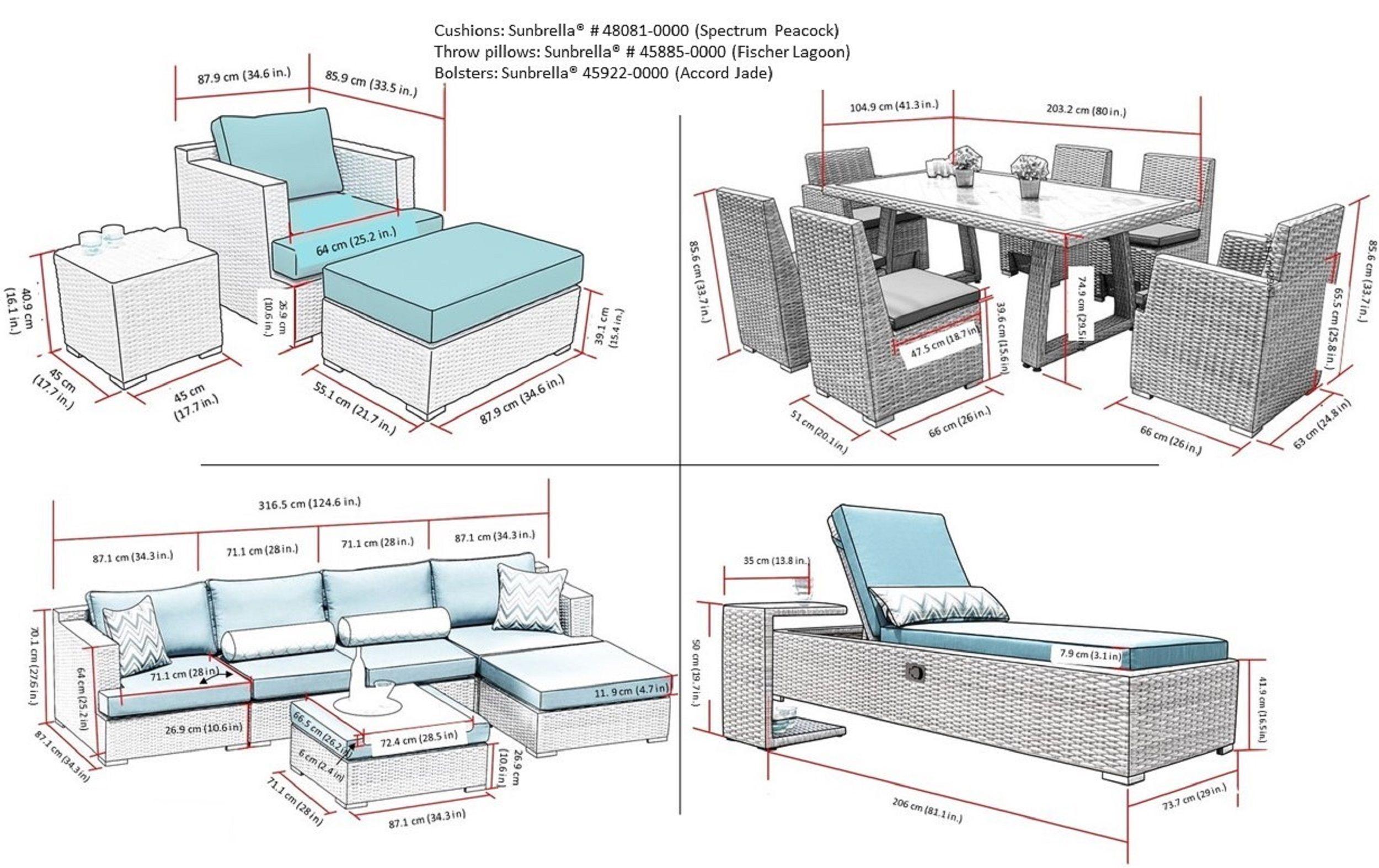 Sirio Niko Pea Patio Furniture - Patio Furniture on