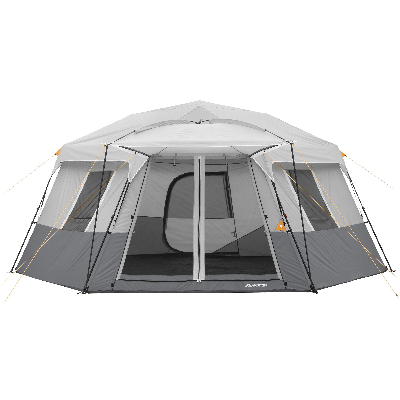 Ozark Trail 17' x 15' Person Instant Hexagon Cabin Tent, Sleeps 11