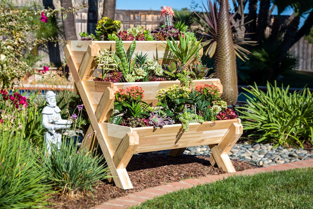 CedarCraft Products Are Designed For Limited Space Gardening. Whether You  Have A Small Backyard, A Deck, A Porch, Or Just A Balcony You Can Still  Enjoy ...