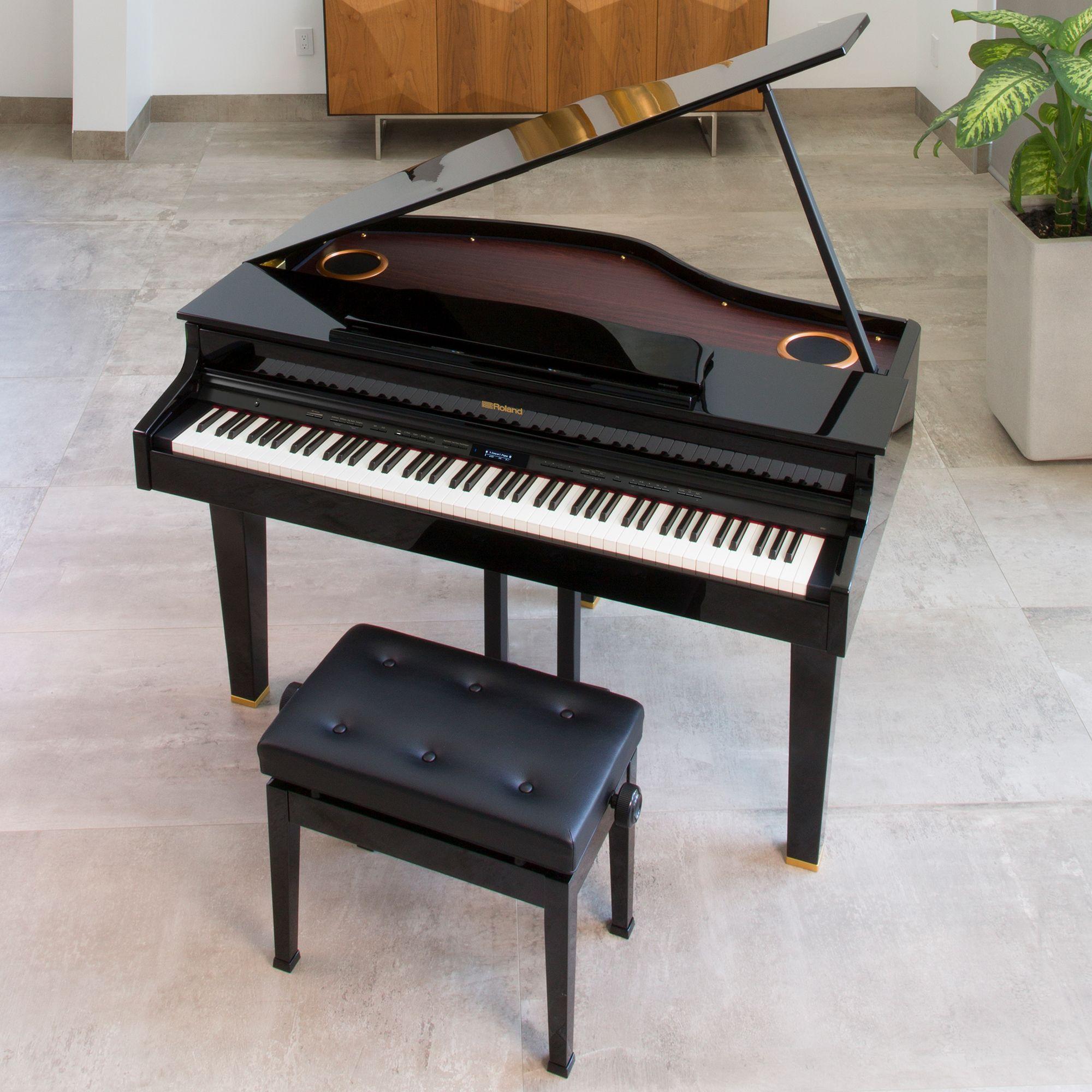 80e05ae6c0d Roland Mini Grand Digital Piano Bundle - CG-1