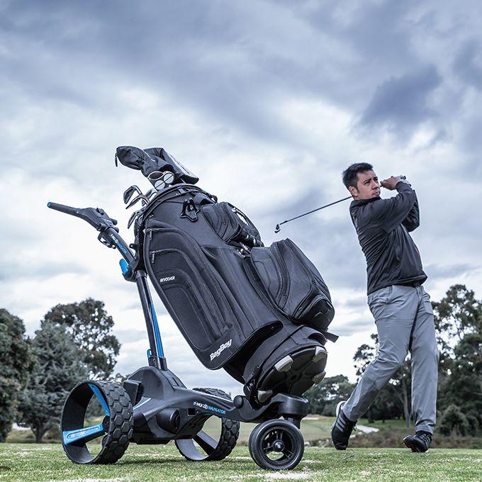 Electric Golf Caddy >> Mgi Zip Navigator Electric Golf Cart Bundle