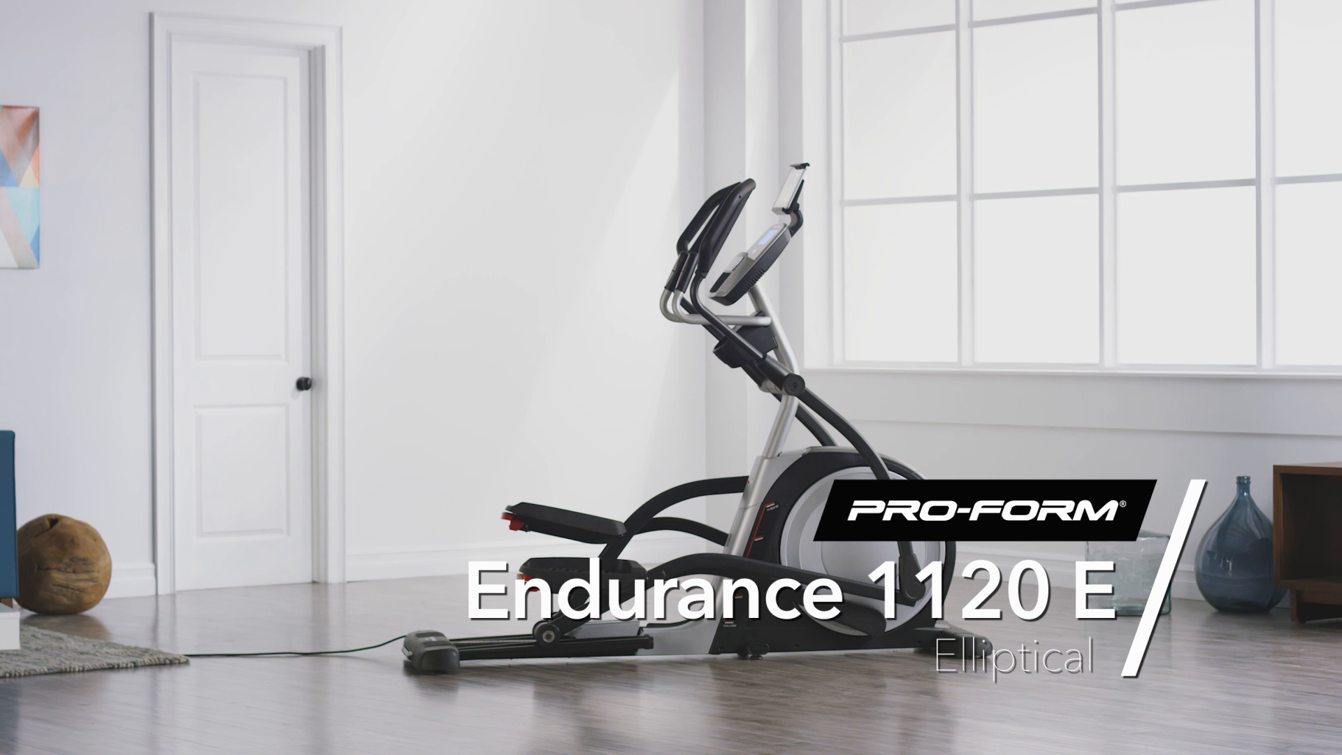 ProForm 1120E Elliptical with 1 Year iFit Coach Included - Out-of-Box Easy  Assembly - Assembly Required