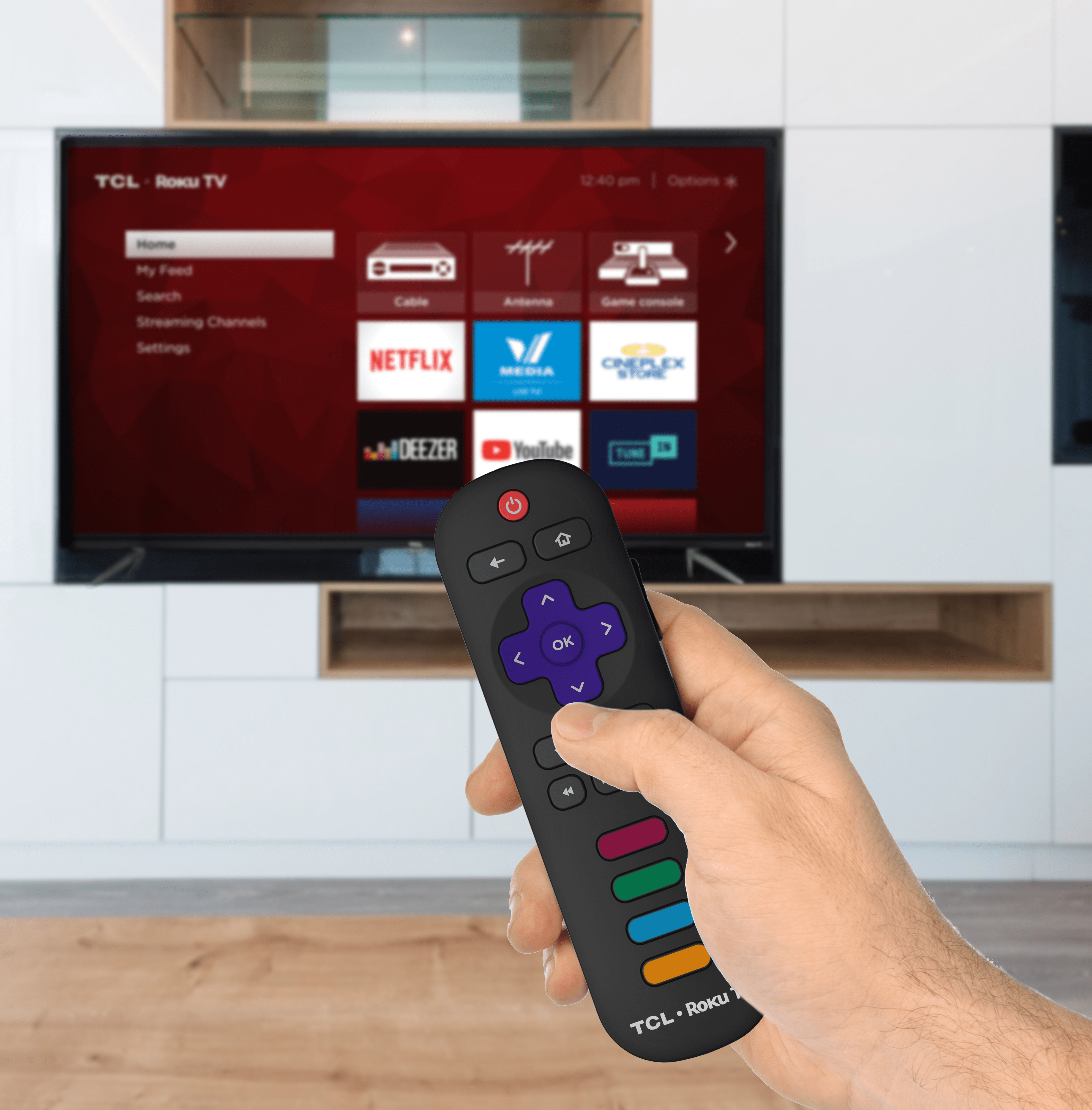 TCL 65-in  4K HDR Roku Smart TV 65S423CA