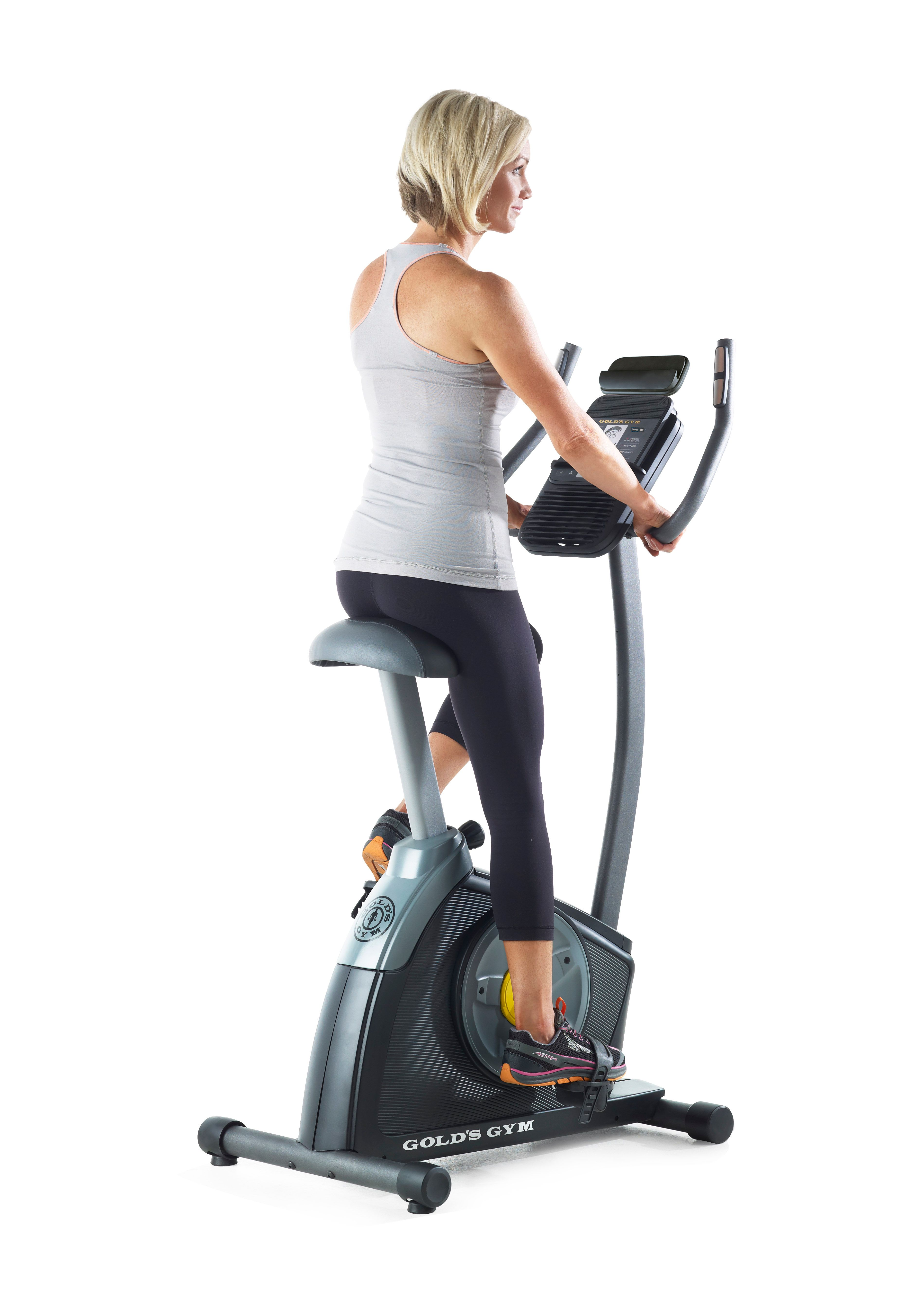 Gold's Gym Trainer 300 Ci Upright Exercise Bike - iFit
