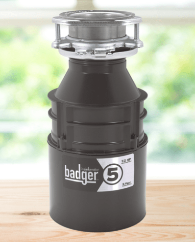 InSinkErator Badger 5 1/2-HP Continuous Feed Garbage