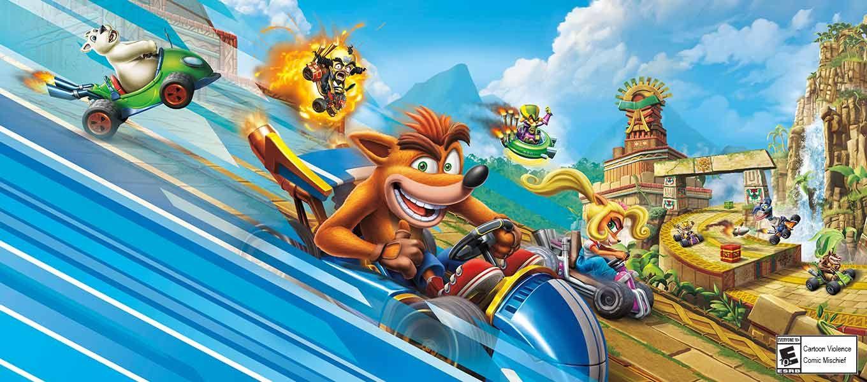CTR - Crash Team Racing: Nitro Fueled, Activision, PlayStation 4,  047875883888