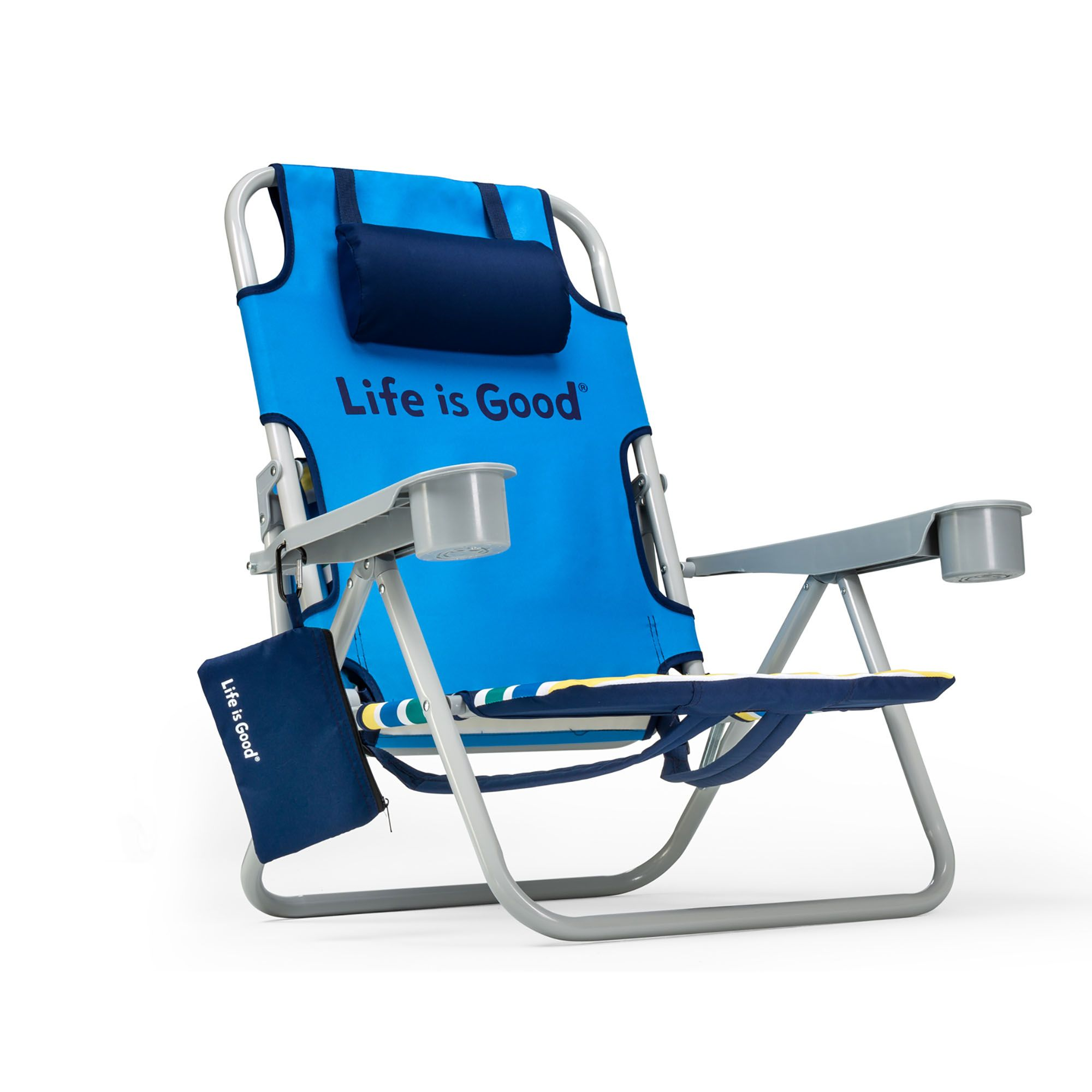 Incredible Silver Folding Beach Chair Pabps2019 Chair Design Images Pabps2019Com