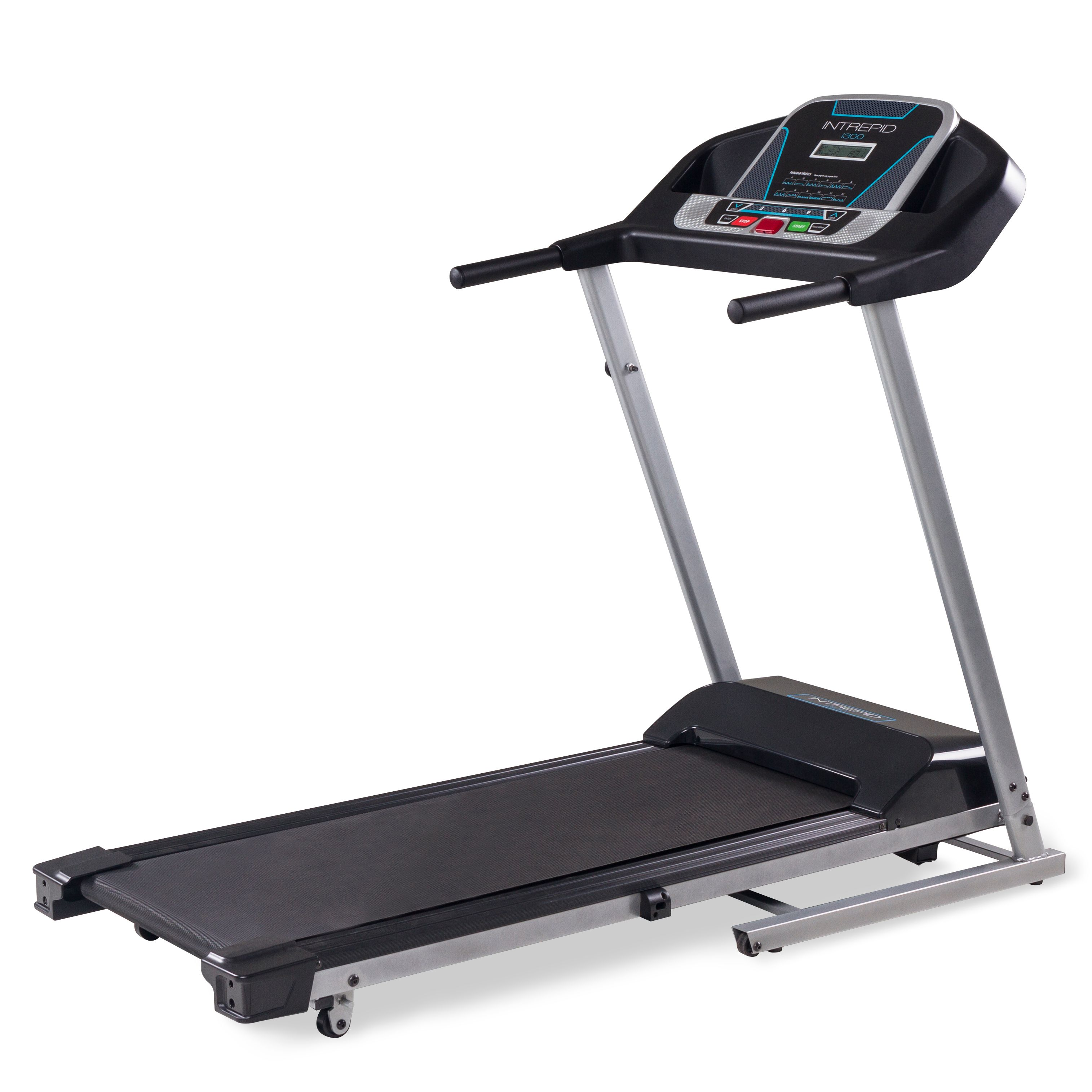 Intrepid I300 Treadmill With Lcd Display And Cushioned Deck Technology