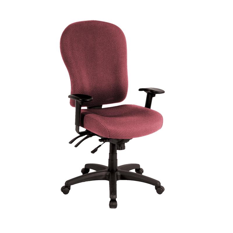 Surprising Tempur Pedic Tp4000 Fabric Task Chair Burgundy Tp4000 Burg Machost Co Dining Chair Design Ideas Machostcouk